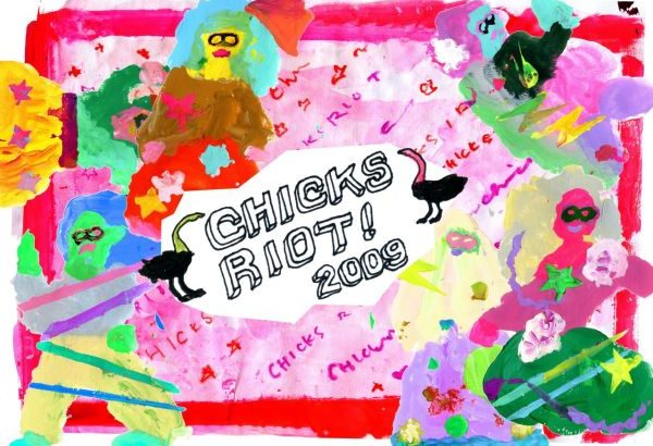 chicks riot! 2009