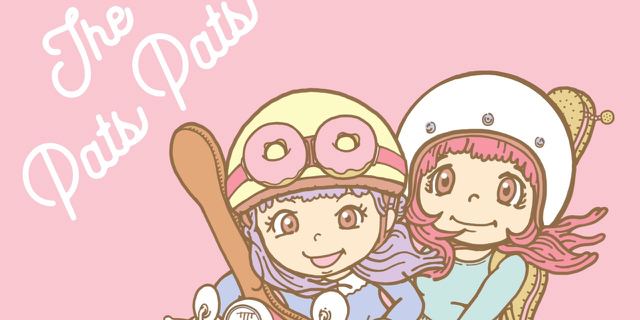 VAMP! SHOP | 3/22発売! THE PATS PATS 1stアルバム、当店限定購入特典付きます♡