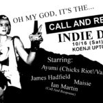 DJ | 10/16:Call And Response Indie Disco!